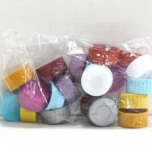 Капачки за шише пластмасови 20бр.