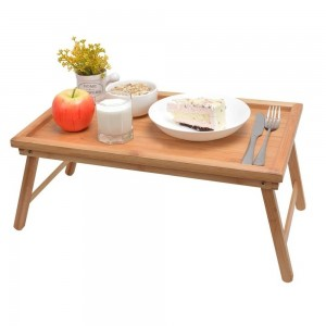 Маса за закуска в леглото/бамбук/50х30