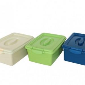 Кутия за сирене цветна