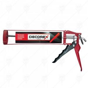 Пистолет за силикон алуминиев, усилен DECOREX
