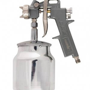 Пистолет за боядисване с долно казанче, V=0,75l, дюзи 1.2, 1.5 и 1.8mm