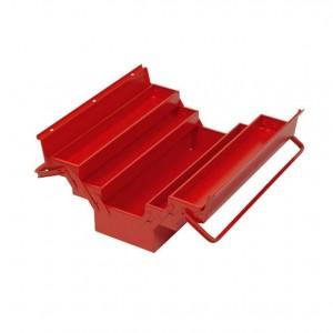 Куфар за инструменти ,метал, 430*200*160/2дръжки