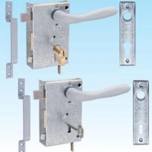 Брава Metal обикновена за външен монтаж 125х75.5х31 мм - дясна