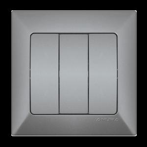 Ключ ANURA троен, алуминиев цвят