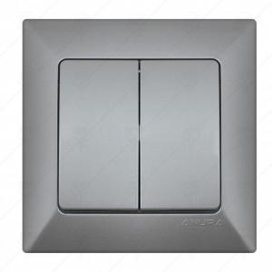 Ключ ANURA сериен сх.5, алуминиев цвят
