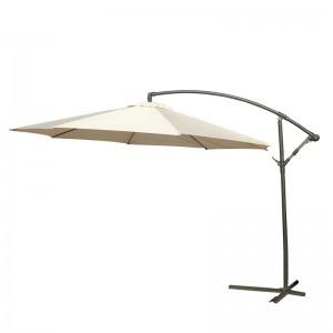 Чадър със стойка 3м. бежов, без харбали
