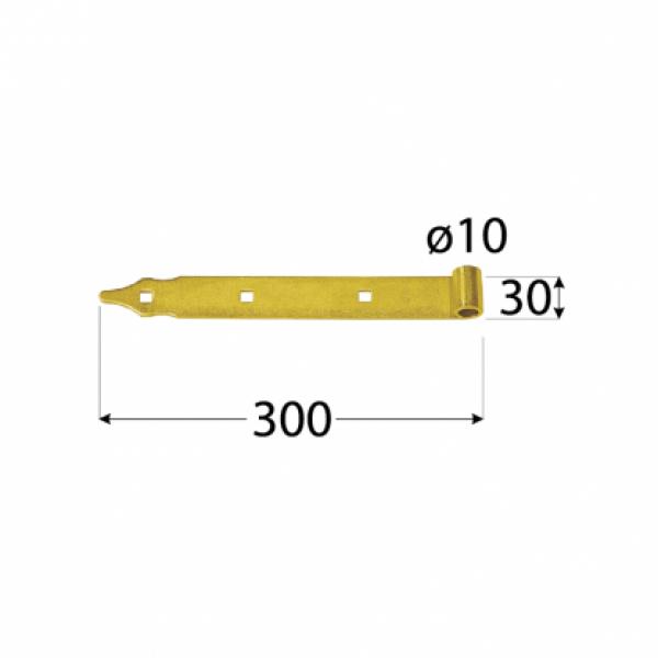 Панта рамо ZР400*35*4.0 Ф13-10