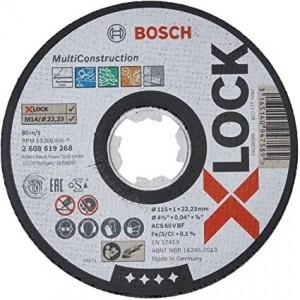 Диск BOSCH X-LOCK Multi Material 115х1х22