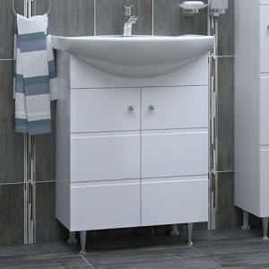 Мебел за баня Емона 60 см Долен шкаф