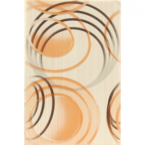 Декор Осака оранжева нова 20х30 5330