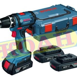 Акумулаторен винтоверт Bosch GSB 18 V-Li /куфар L-Boxx, 2 батерии 4.0 Ah/