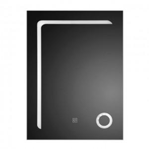 LED огледало, система против замъгляване, с увеличително стъкло