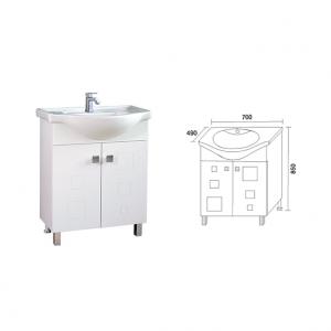Долен шкаф за баня ДЕЯ 70
