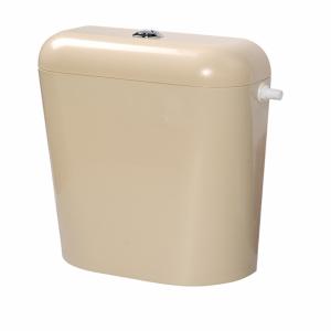 Пластмасово тоалетно казанче с изолация кремаво