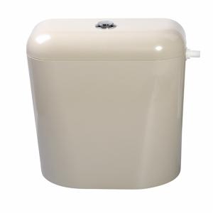 Пластмасово тоалетно казанче с изолация бежoво