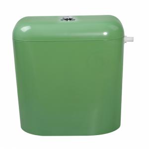 Пластмасово тоалетно казанче с изолация зелено