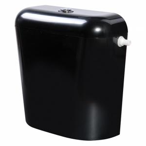 Пластмасово тоалетно казанче с изолация черно