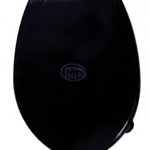 Пластмасова тоалетна седалка черна