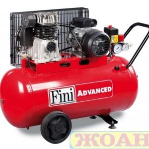 Монофазен компресор Fini MK 102/N-90-2M /90л., 1.5KW, 10 bar/