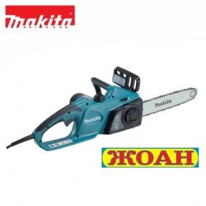 Електрически верижен трион Makita UC3041A / 1800 W 300 mm / + Масло за смазване на веригата+ Ръкавици