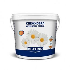 PLATINO снежнобял интериорен латекс 15л.