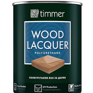 Лак за дърво Timmer Lacquer, полиуретанов, гланц, мат 750 мл