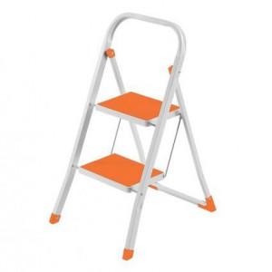 Домакинска метална стълба - 2 стъпала