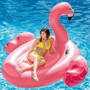 Надуваем остров Фламинго