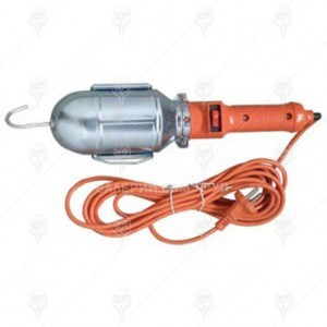 Лампа подвижна с кабел 10м. 50W KLAUS