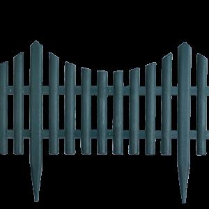 Малка ограда РР Н32 L60iсм. зелена