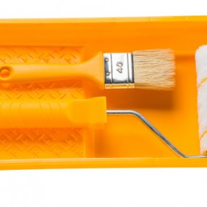 Комплект за боядисване №56 ХАРДИ - валяк, четка и ваничка