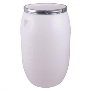 Бидон 120 литра с метален обръч