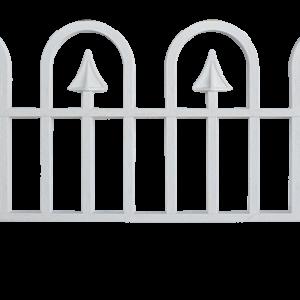 Малка ограда PP h30см l60см бяла
