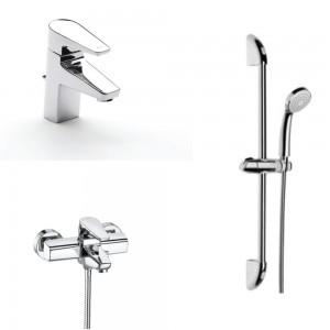 Комплект смесители за баня ROCA ESMAI 3в1