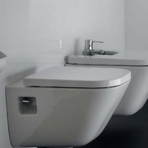 Тоалетна чиния The Gap комплект със седалка с забавено падане