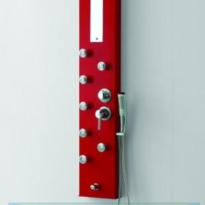 Хидромасажен панел Дилея червен 3014