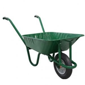 Количка ръчна 80л. с усилено колело Fuze green