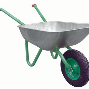 Количка ръчна VAL import галванизирана с надуваемо колело HERL