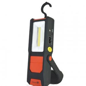 Лампа LED ръчна СОВ 1+2W с магнит и батерия