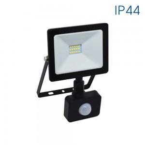 Прожектор LED NIX 10W/B със сензор ip44