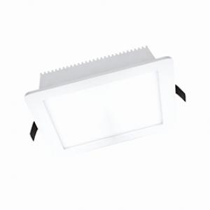 LED луна бяла влагозащитена 220V 18W IP44 CW 6000K 158x158x35 мм.
