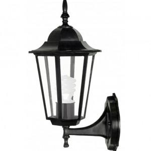 Градински фенер TINO UP/ BLACK черен E27 60W