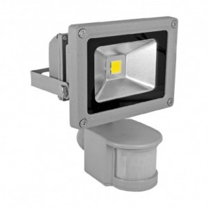 Прожектор LED с датчик за движение - VIVALUX SOLID LED 10W 4000K