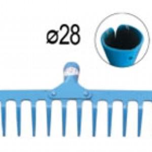 Гребло 16 зъба с отвор за дръжка ф28мм