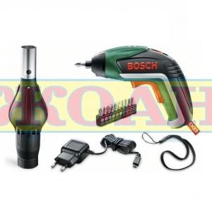 Акумулаторна отвертка Bosch IXO BBQ – с приставка за барбекю / Li-Ion, 3.6 V, 1.5 Ah /