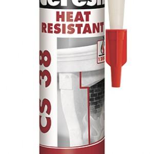 Термоустойчив силикон 300мл черен Ceresit CS 38