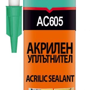 Акрилен уплътнител AKFIX АС605 бял 310мл