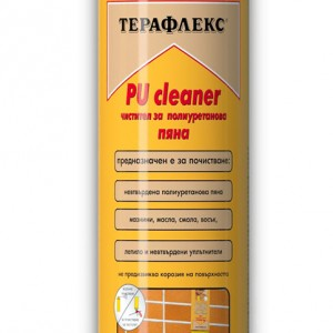 Чистител за полиуретанова пяна Терафлекс PU Cleaner 500 мл.