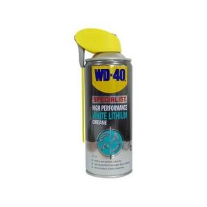 Бяла литиева грес WD 40, 400 мл