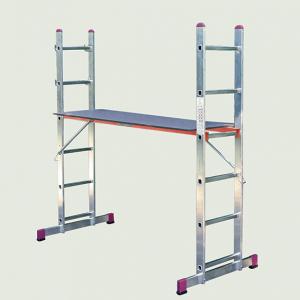 Комбинирана стълба- скеле CORDA 2х06